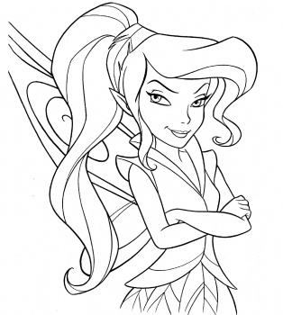 314x350 Tinkerbell Coloring Pages Tinkerbell Water Fairy Coloring Pages