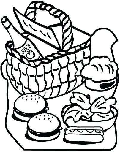 404x512 Drink Coloring Eating Hot Dog And Soft Drink Coloring Page Drink