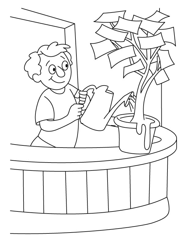 612x792 Water Coloring Page Many Interesting Cliparts