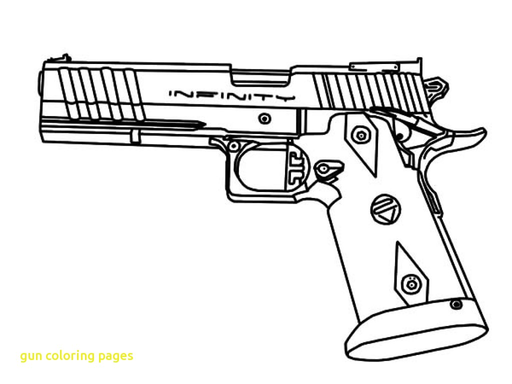 1024x768 Gun Coloring Pages With Incredible Ideas Guns Within