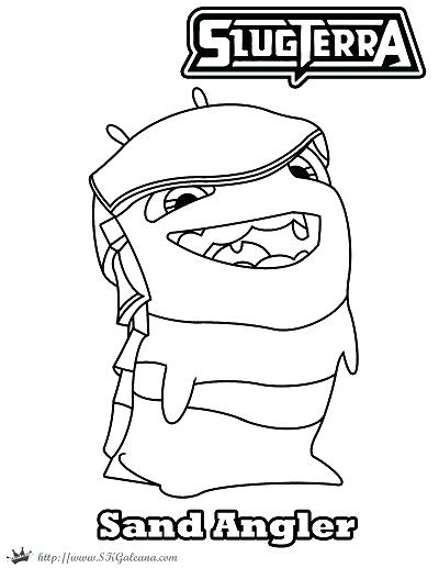 400x517 Slugterra Gun Coloring Page Pages Blaster Nation Mycosedesongles