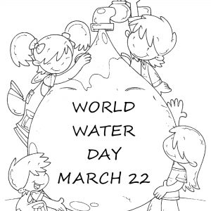 300x300 Coloring Pages On Water Conservation Best Of Save Water Save