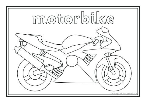 480x339 Transport Coloring Pages Colouring Sheets Featuring Various Types