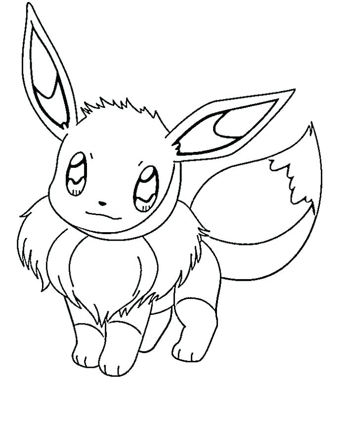 700x899 Eevee Pokemon Colouring Pages Water Coloring Pages Water Type