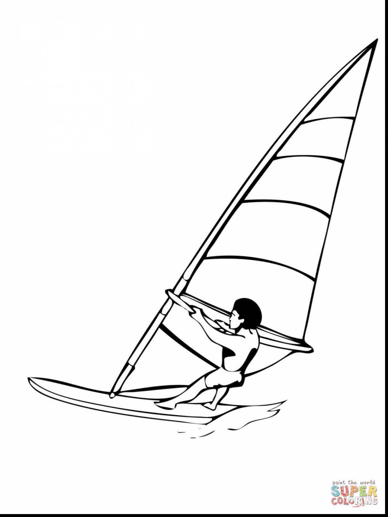 1320x1760 Swimming Freestyle Coloring Page Free Printable Water Sports Pages