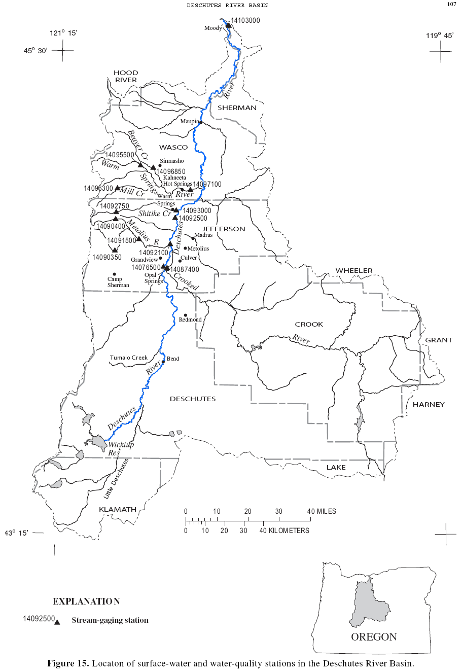 911x1325 Usgs Deschutes Watershed