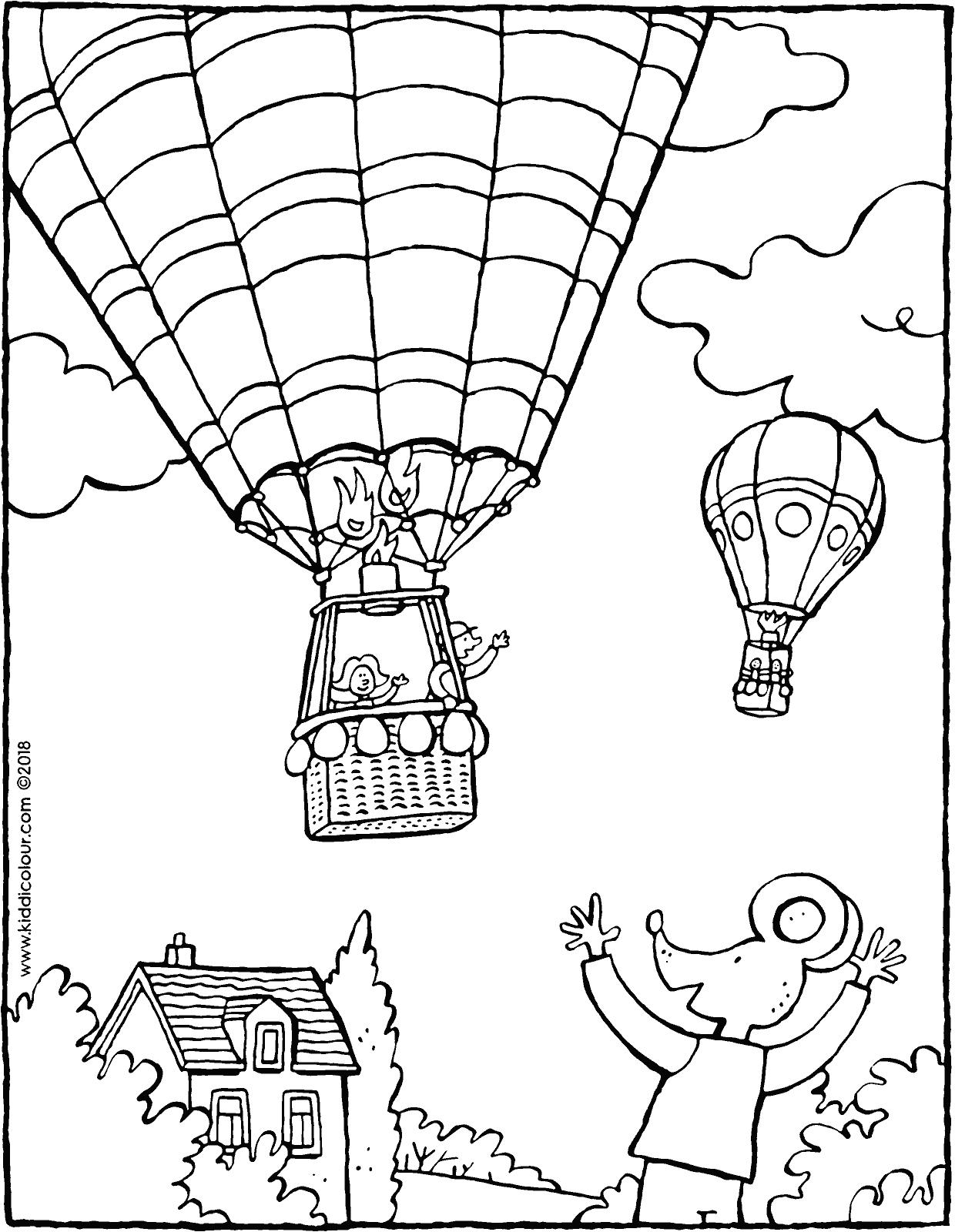 1240x1600 Thomas Waves To A Hot Air Balloon