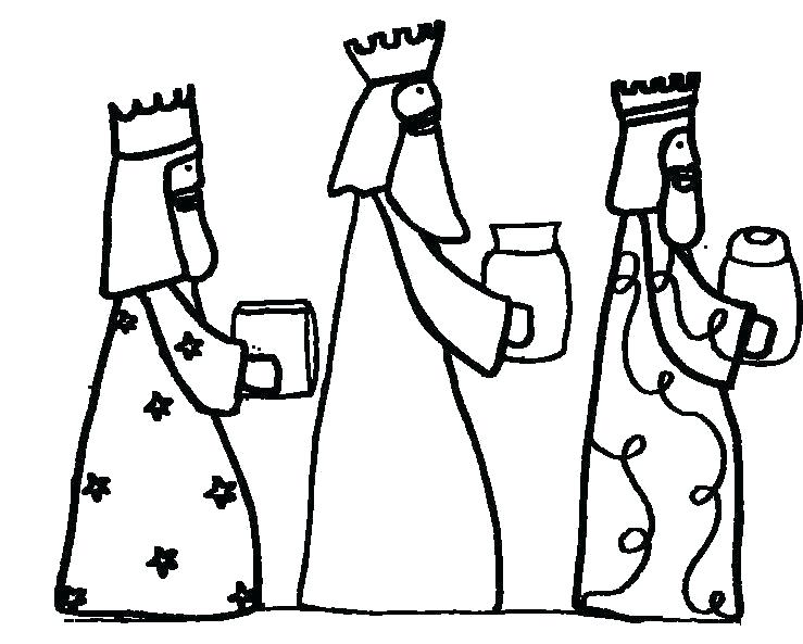 739x593 Three Kings Coloring Pages The Three Wise Men Baby Donkey Kong