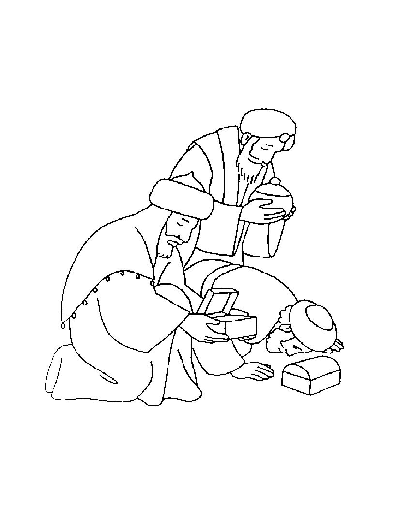 820x1060 Free Coloring Pages Of The Three Wise Men