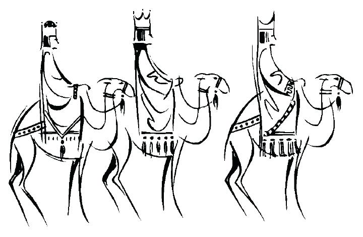 720x470 King Saul And David Coloring Pages Three Kings For Kids Free Clip