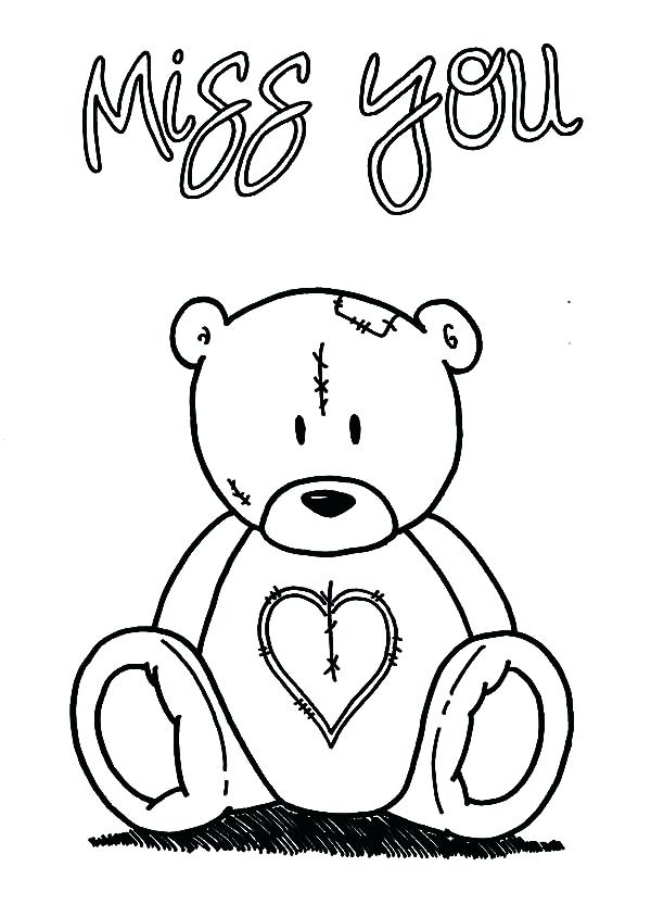 600x844 Miss You Message Code Coloring Page Top Letter B Coloring Pages