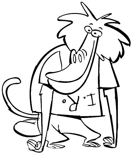 433x496 I Am A Weasel Coloring Pages Coloring Pages