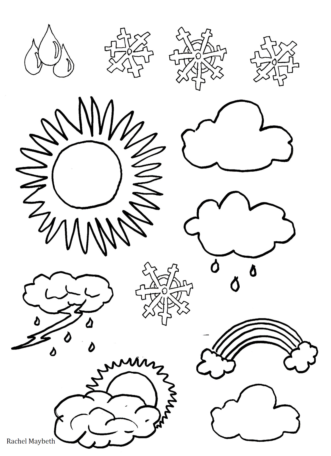 1163x1600 Outstanding Weather Colouring Sheets Rachel Ma