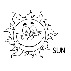 230x230 Top Free Printable Weather Coloring Pages Online