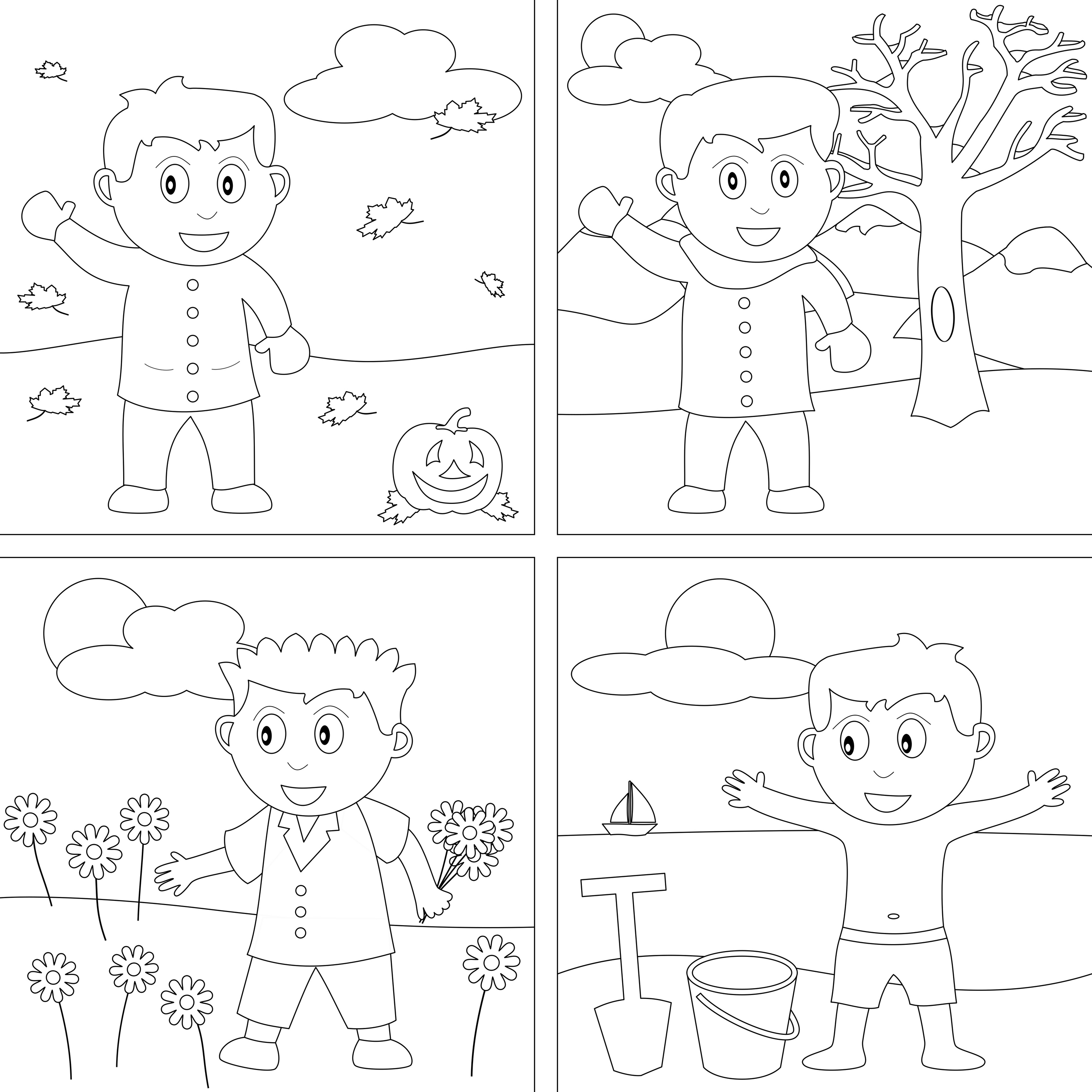 2828x2828 Weather Coloring Pages