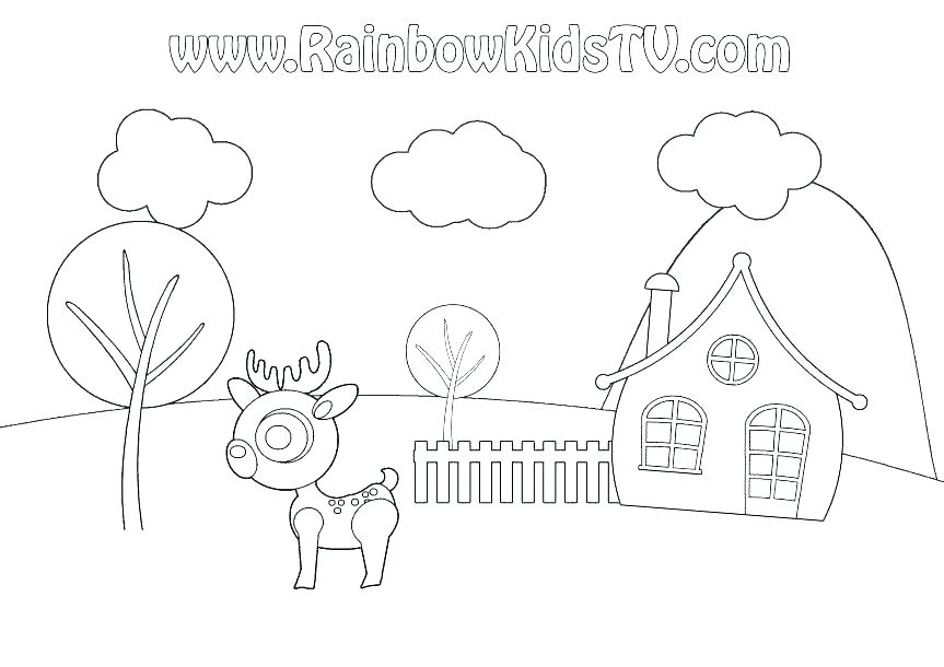 863x610 Weather Coloring Pages For Kindergarten Weather Coloring Page