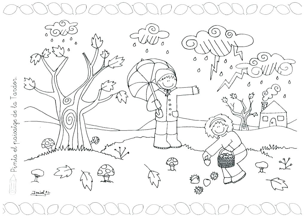 1024x725 Weather Coloring Pages Printable
