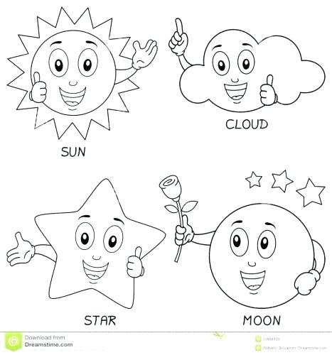 467x500 Weather Coloring Pages Weather Coloring Page Weather Coloring Page