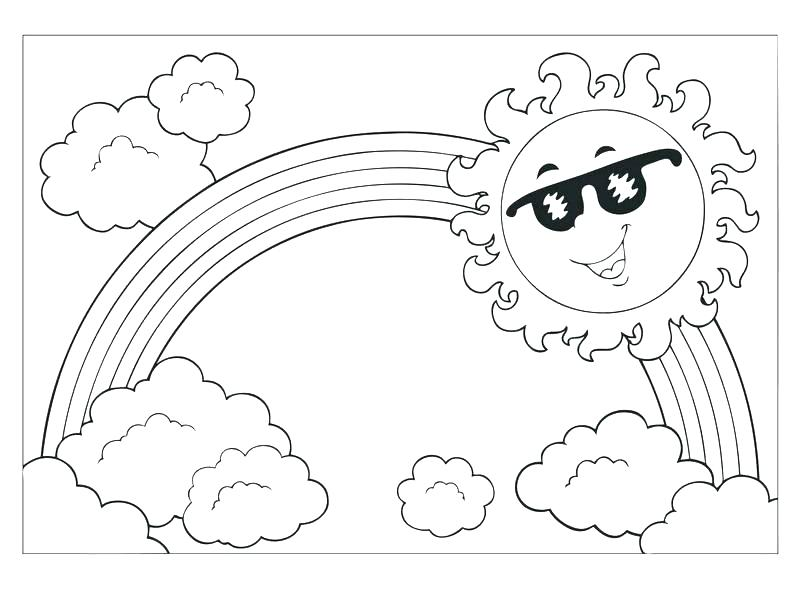 800x600 Weather Coloring Pages Weather Coloring Pages For Preschool