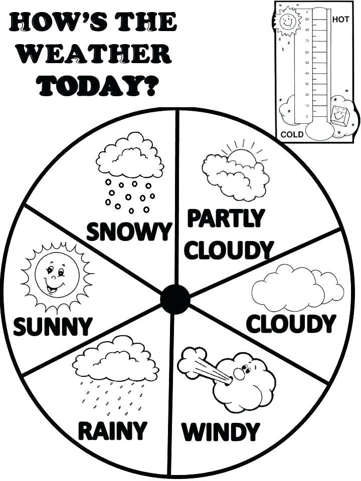 720x960 Weather Coloring Pages Weather Coloring Pages Weatherman A Sunny