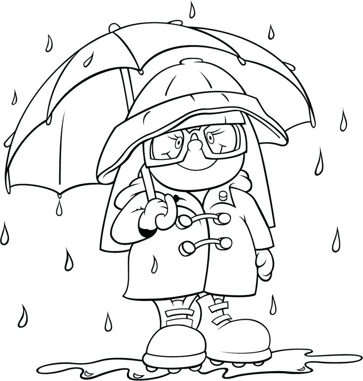736x772 Pre School Coloring Pages Weather Coloring Pages For Preschool