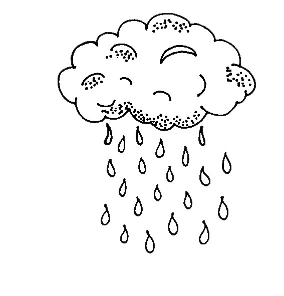 567x591 Top Weather Coloring Pages