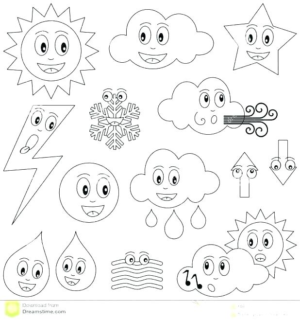 618x660 Weather Color Pages Weather Coloring Book Coloring Pages Weather