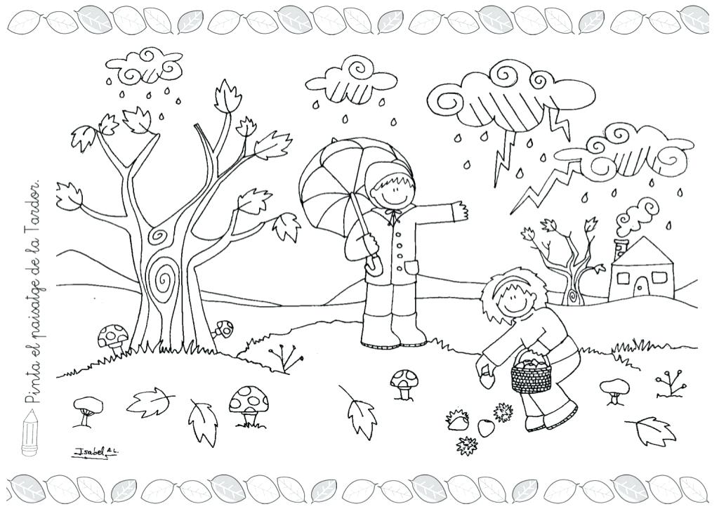 Weather Coloring Pages For Preschool at GetDrawings | Free ...