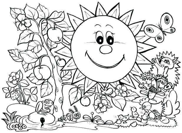 618x454 Weather Coloring Page Winter Season Coloring Pages Seasons
