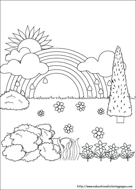 Weather Coloring Pages For Preschool at GetDrawings.com ...