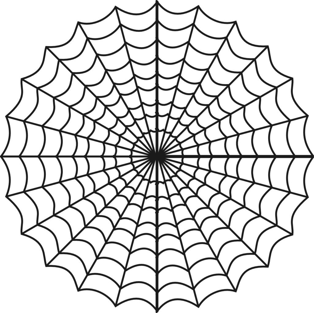 1024x1019 Spider Web Coloring Page Free Printable Pages For Kids To Print