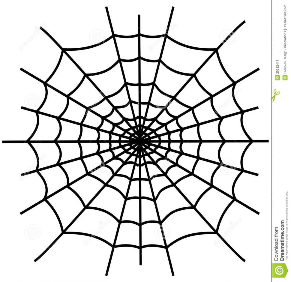 970x940 Expert Spider Web Coloring Page With Pages D