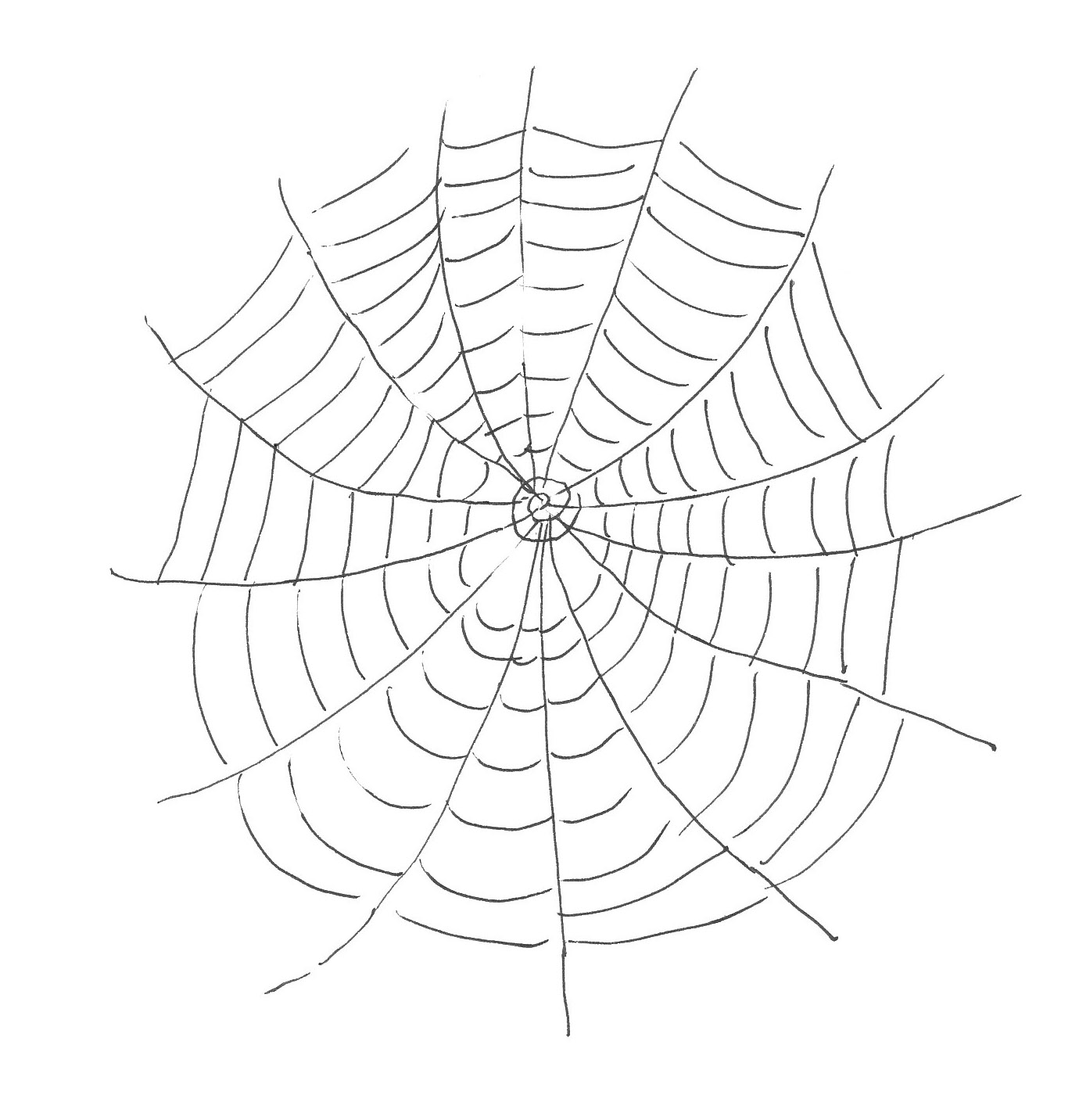 1380x1432 Free Printable Spider Web Coloring Pages For Kids