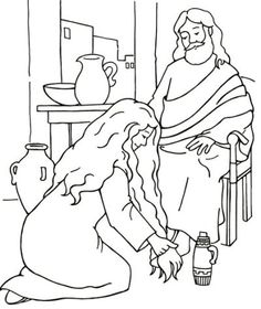 236x280 Sunday School Coloring Page The Wedding