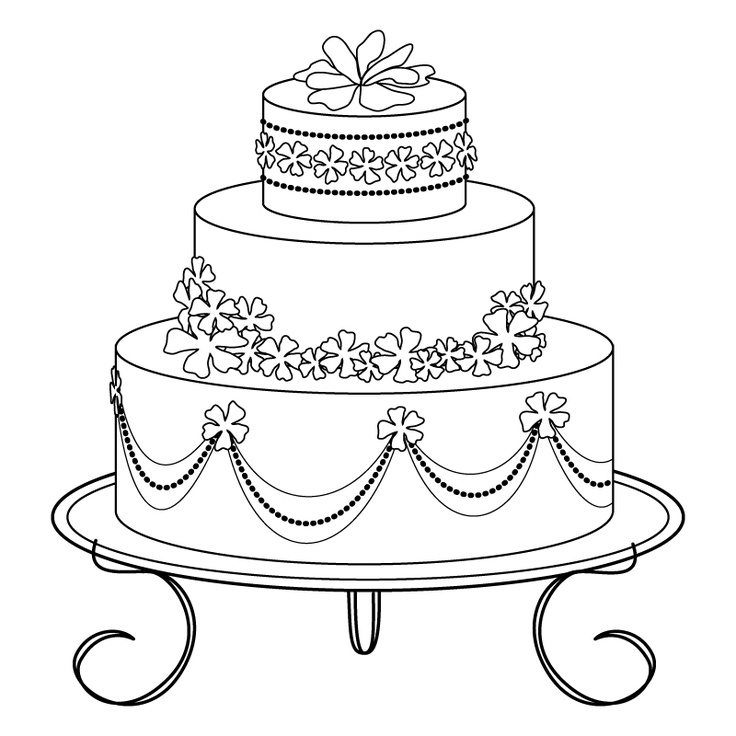 736x736 Best Coloring Cake's Images On Coloring Books