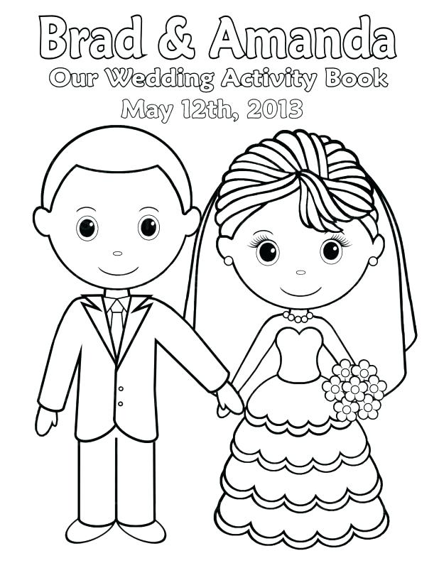 618x800 Wedding Coloring Pages Classy Printable Wedding Coloring Pages