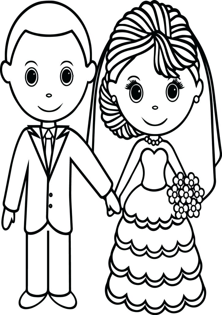 724x1024 Wedding Coloring Pages Free Wedding Coloring Pages Free Free