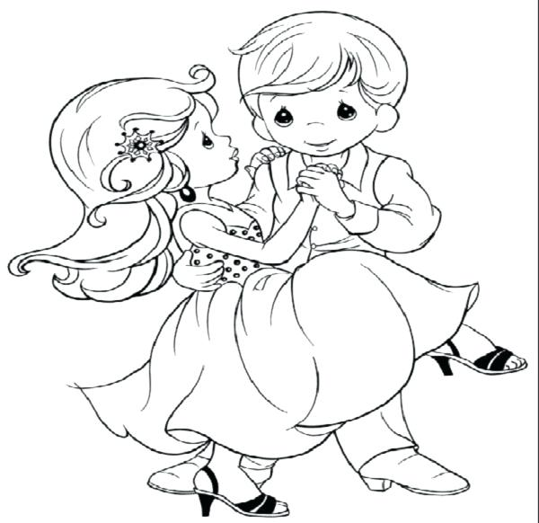 600x582 Wedding Coloring Pages Wedding Coloring Pictures Wedding Coloring