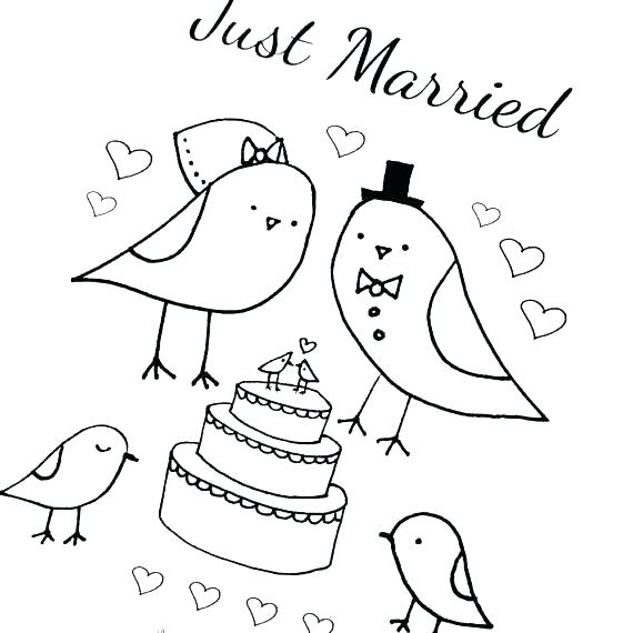 570x570 Wedding Coloring Book Pages Free Wedding Coloring Book Pages