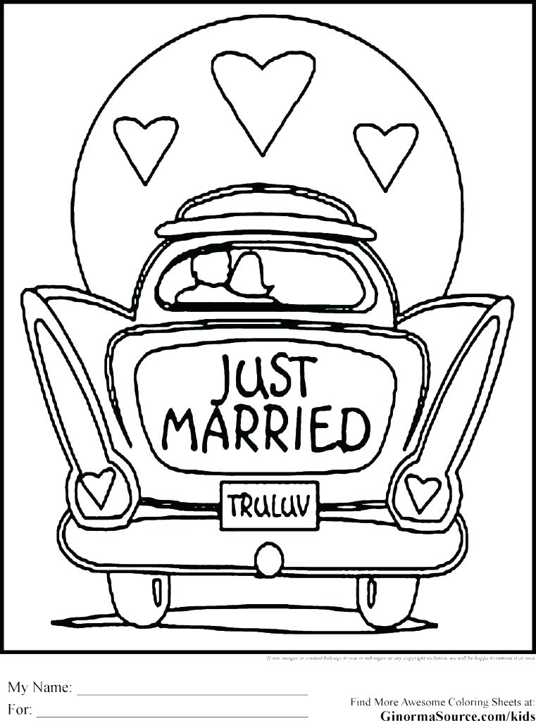 761x1024 Wedding Coloring Book Pages Free Wedding Coloring Book Wedding