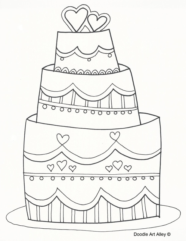 618x800 Wedding Coloring Pages