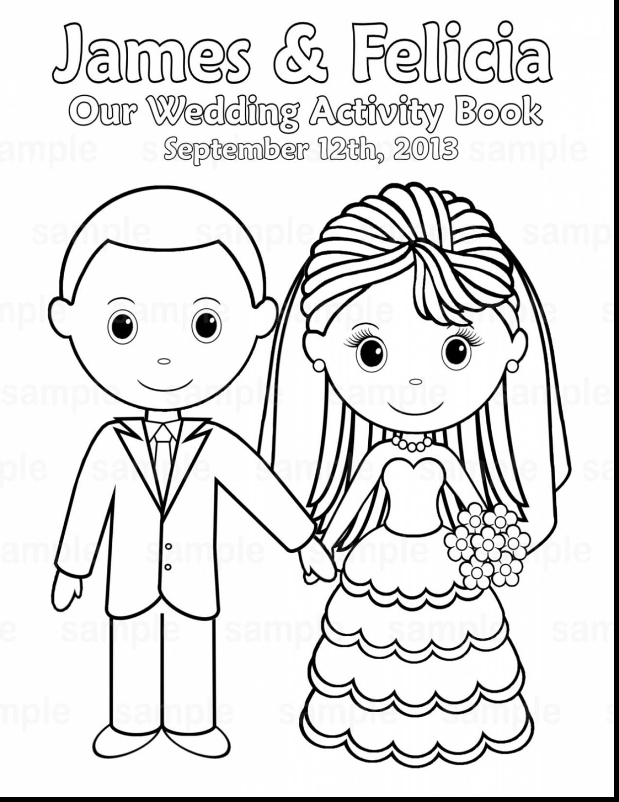 graphic relating to Wedding Coloring Books Printable called Wedding ceremony Coloring Web pages at  Free of charge for