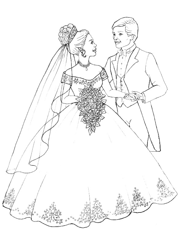 600x800 Kids N Coloring Pages Of Marry And Weddings