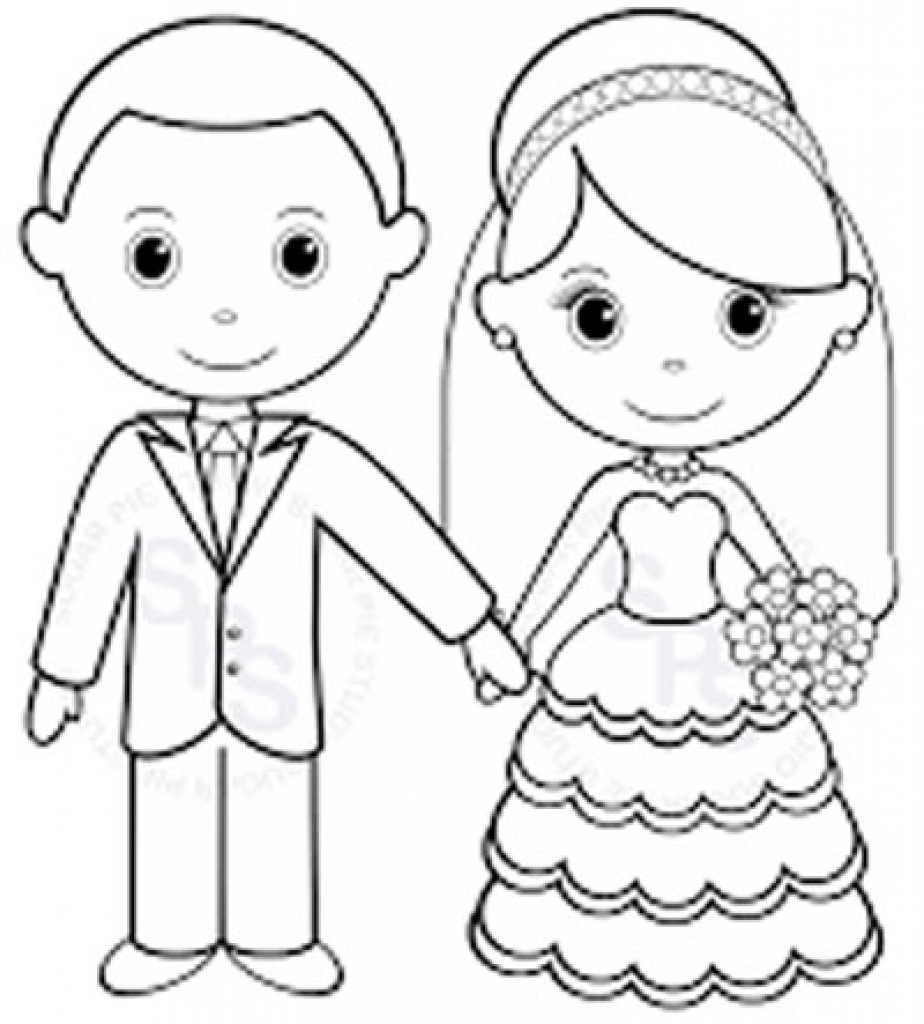 924x1024 Pretentious Wedding Coloring Pages Cute Page Free Intended