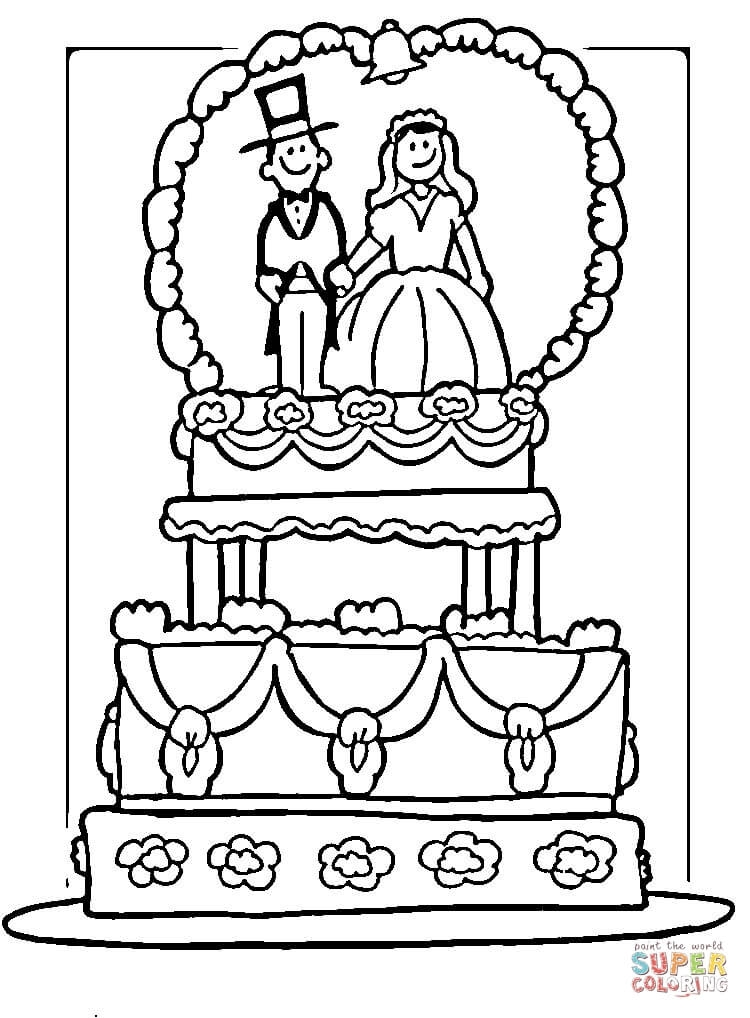 750x1018 Wedding Coloring Pages Free Printable