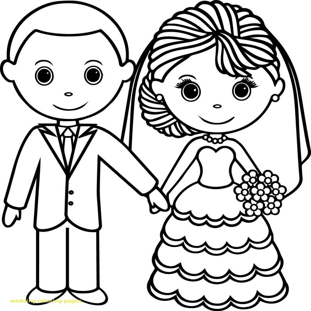 1024x1024 Wedding Coloring Pages With Wedding Couple Coloring Pages