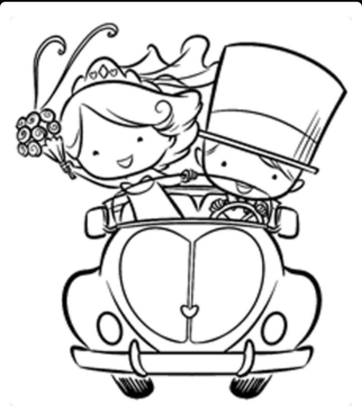 720x817 Stamps, Wedding And Digi