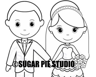 340x270 Personalized Printable Bride Groom Wedding Party Favor