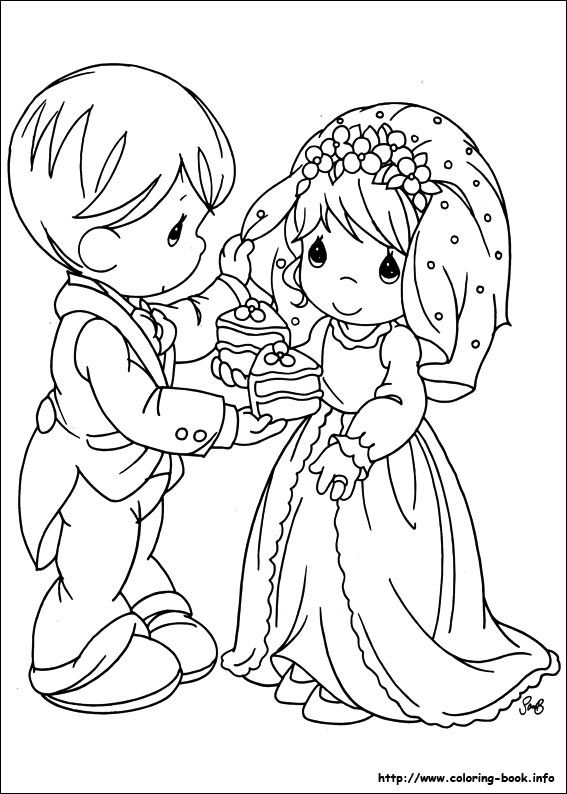 567x794 Best Precious Moment Coloring Pages Images