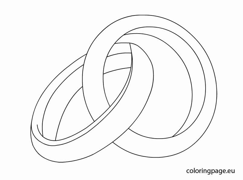 804x595 Awesome Wedding Ring Drawing